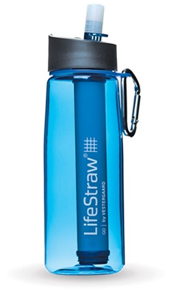 LifeStraw Filtering Water Bottle - On the go Filtration